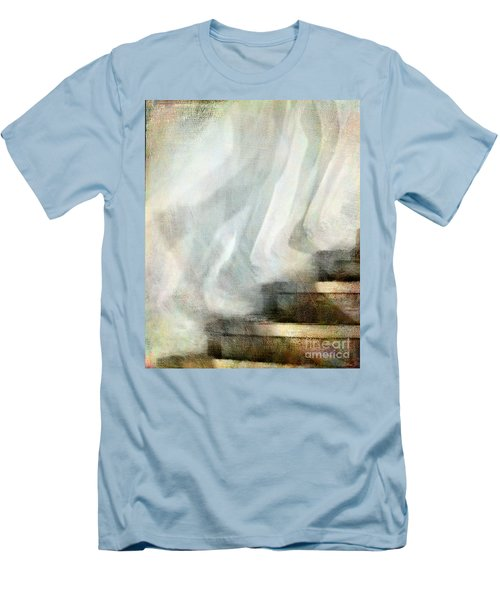 Left Behind Men's T-Shirt (Slim Fit) by Jennie Breeze