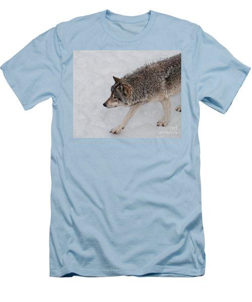 Men's T-Shirt (Slim Fit) featuring the photograph Stalker by Bianca Nadeau