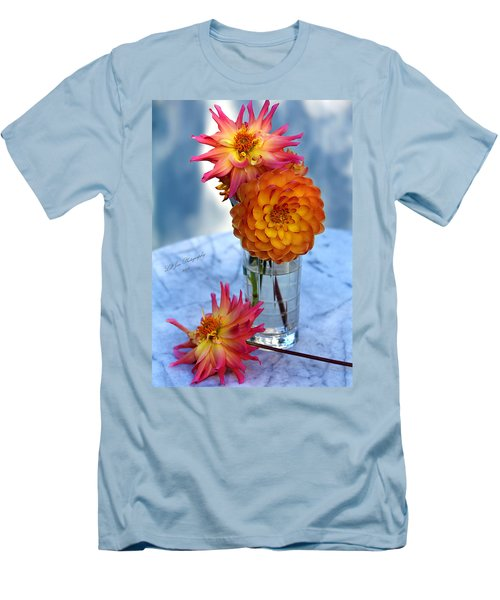 Men's T-Shirt (Slim Fit) featuring the photograph Starfire by Jeanette C Landstrom