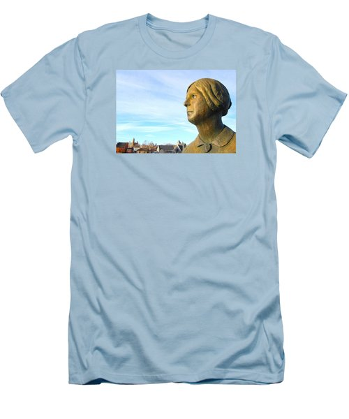 Staring Statue Men's T-Shirt (Athletic Fit)