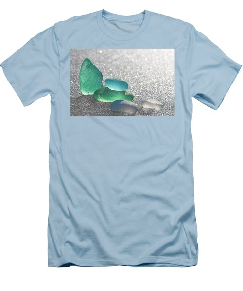 Stay Close Men's T-Shirt (Slim Fit) by Barbara McMahon