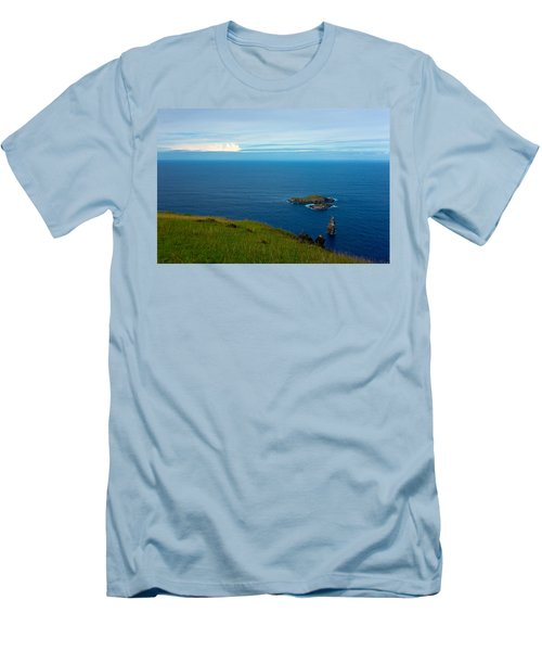 Storm On The Horizon Men's T-Shirt (Athletic Fit)