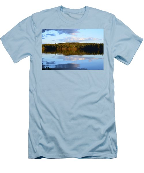 Stormclouds Scatter Men's T-Shirt (Athletic Fit)