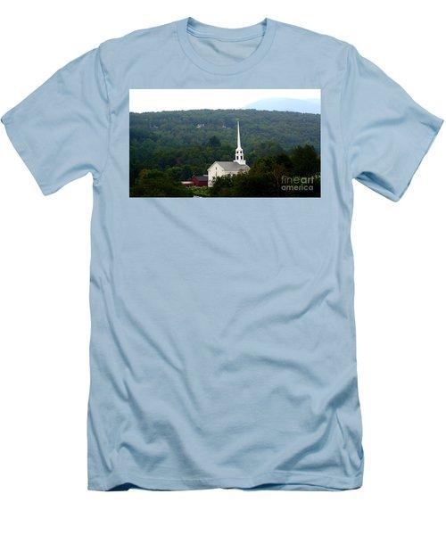 Stowe Community Church Men's T-Shirt (Slim Fit) by Patti Whitten