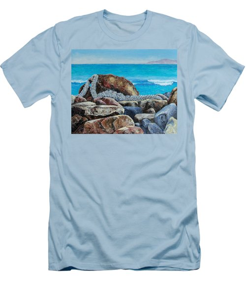 Stranded Men's T-Shirt (Slim Fit) by Susan DeLain