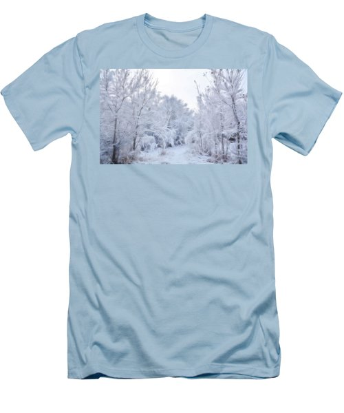 Stroll Through A Winter Wonderland Men's T-Shirt (Athletic Fit)