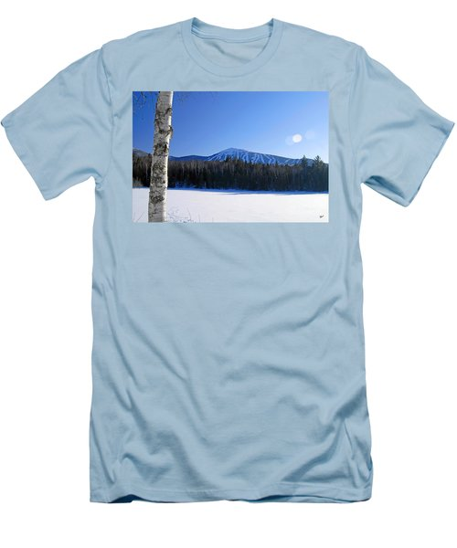 Sugarloaf Usa Men's T-Shirt (Slim Fit) by Alana Ranney
