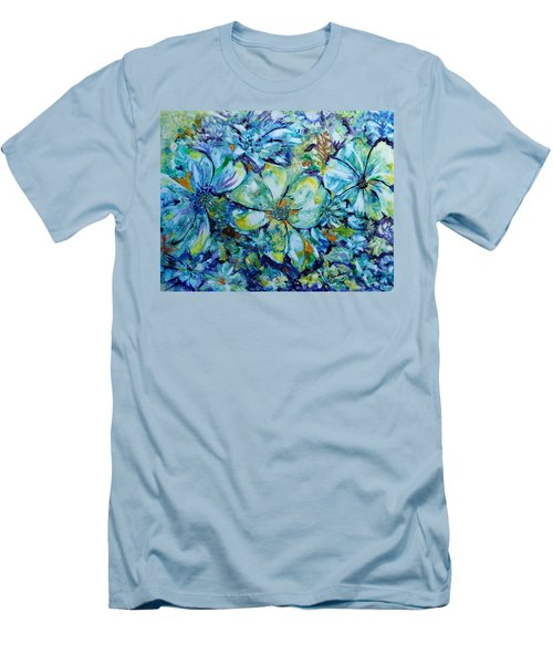Summertime Blues Men's T-Shirt (Athletic Fit)