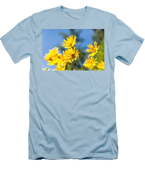 Sunshine Men's T-Shirt (Slim Fit) by Chad Dutson