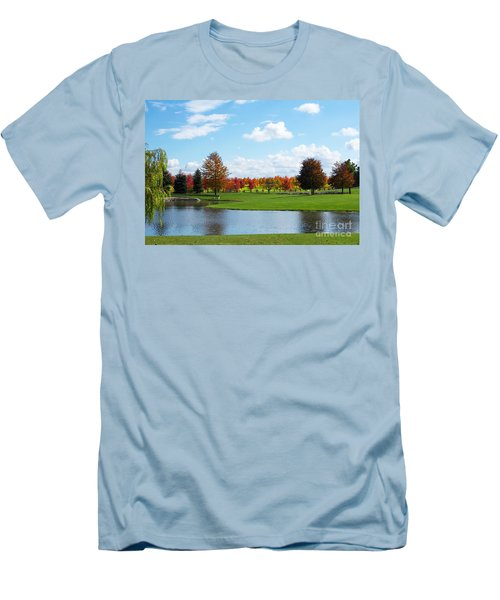 Sunshine On A Country Estate Men's T-Shirt (Athletic Fit)