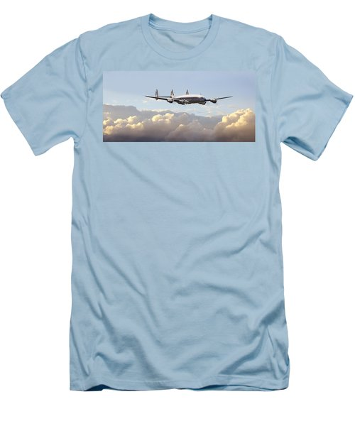 Super Constellation - End Of An Era Men's T-Shirt (Athletic Fit)