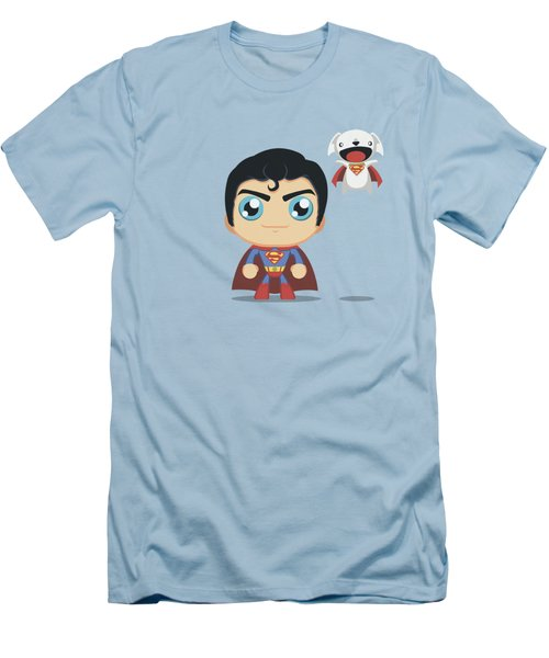 Superman - Cute Superman Men's T-Shirt (Athletic Fit)