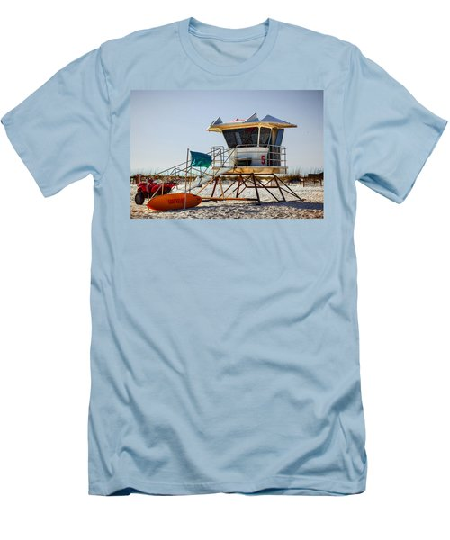 Surf Rescue Men's T-Shirt (Slim Fit) by Sennie Pierson