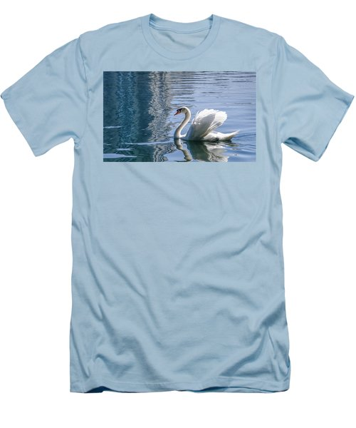 Swan Men's T-Shirt (Athletic Fit)