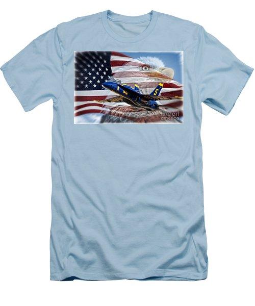 Symbols Men's T-Shirt (Athletic Fit)