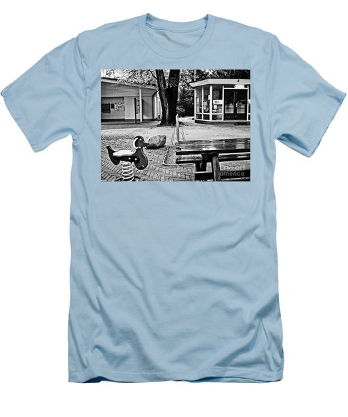 Men's T-Shirt (Slim Fit) featuring the photograph Taking A Break by Andy Prendy