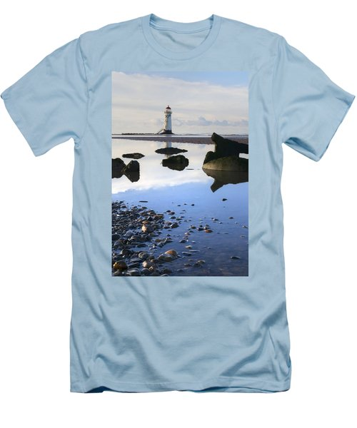 Talacer Abandoned Lighthouse Men's T-Shirt (Slim Fit) by Spikey Mouse Photography