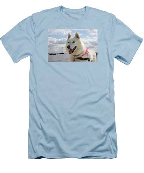 Men's T-Shirt (Slim Fit) featuring the photograph Tehya by Vicki Spindler