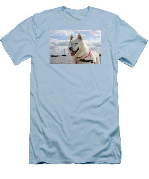 Tehya Men's T-Shirt (Slim Fit) by Vicki Spindler