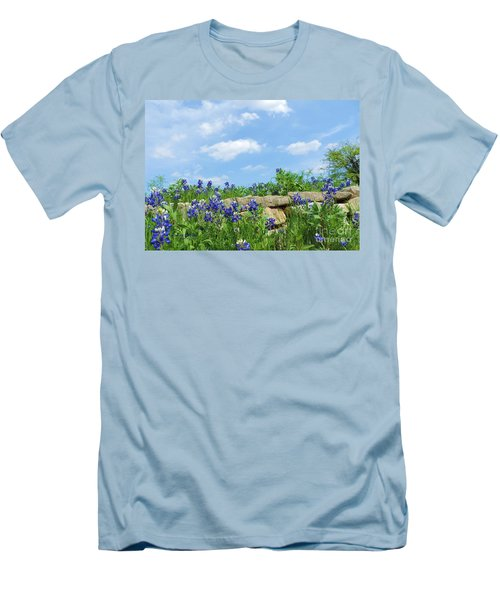 Texas Bluebonnets 08 Men's T-Shirt (Athletic Fit)