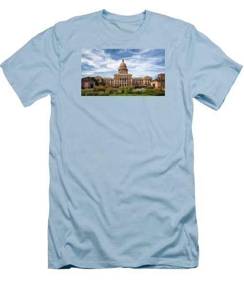 Texas State Capitol II Men's T-Shirt (Slim Fit) by Joan Carroll