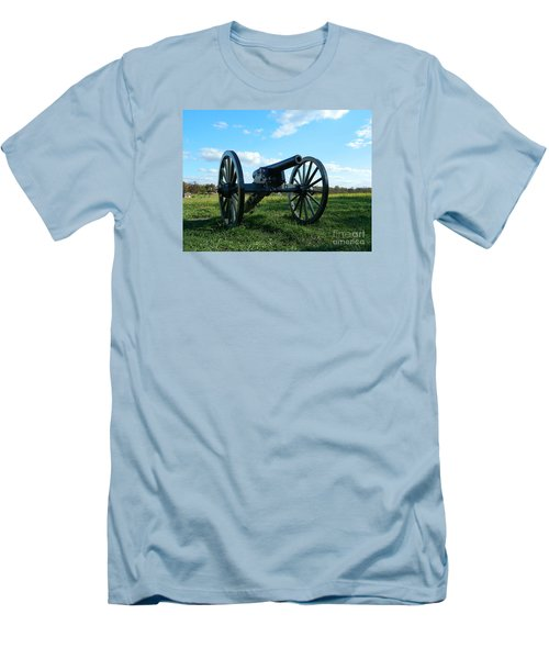 Men's T-Shirt (Slim Fit) featuring the photograph The Battle Is Over - Gettysburg by Emmy Marie Vickers