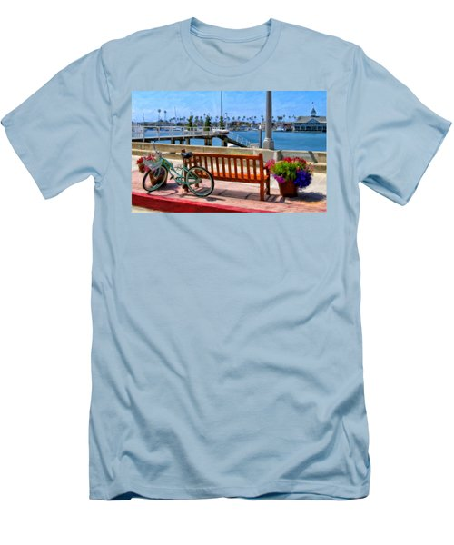 The Beach Cruiser Men's T-Shirt (Athletic Fit)