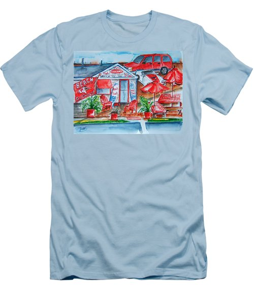 The Beach Shack Men's T-Shirt (Athletic Fit)