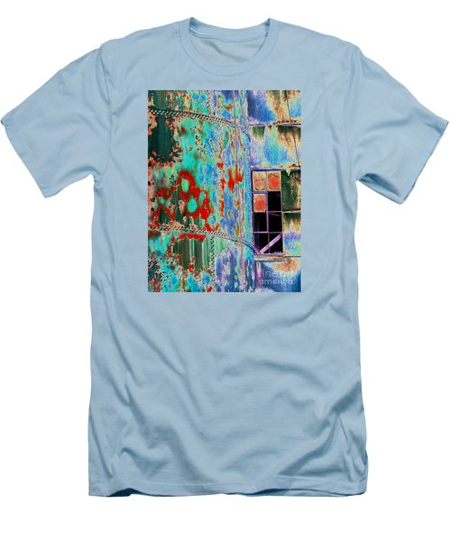 The Beauty Of Steel Men's T-Shirt (Slim Fit) by Marcia Lee Jones