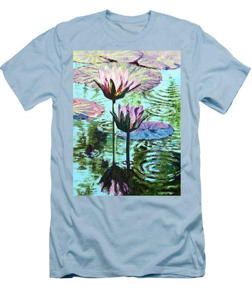The Beauty Of The Lilies Men's T-Shirt (Slim Fit) by John Lautermilch