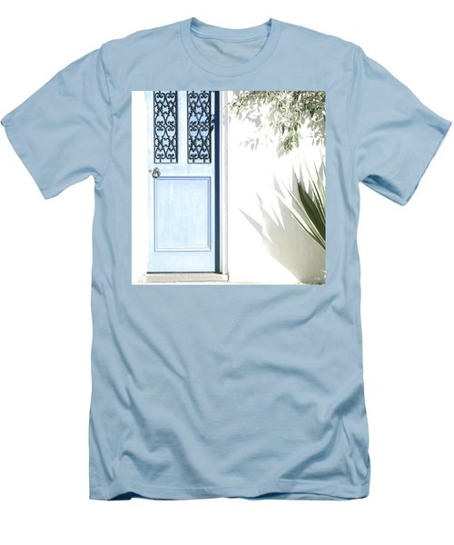 The Blue Door Men's T-Shirt (Slim Fit) by Holly Kempe