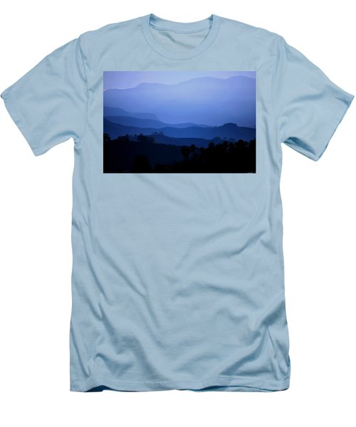 The Blue Hills Men's T-Shirt (Slim Fit) by Matt Harang