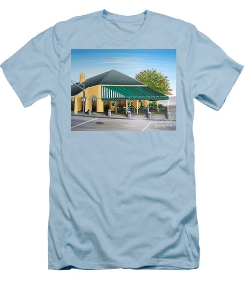 The Cafe Men's T-Shirt (Athletic Fit)