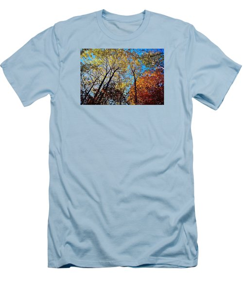 Men's T-Shirt (Slim Fit) featuring the photograph The Canopy by Daniel Thompson