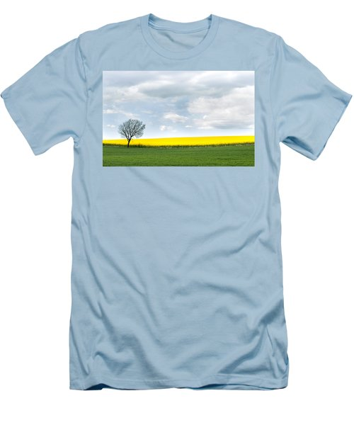 The Colors Of Spring Men's T-Shirt (Slim Fit) by Mike Santis