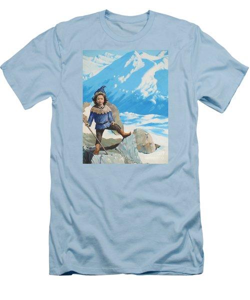 The Conquerer. Men's T-Shirt (Slim Fit) by Vivien Rhyan