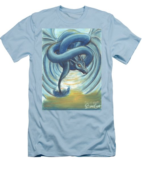 The Eye Of The Storm Men's T-Shirt (Slim Fit) by Samantha Geernaert