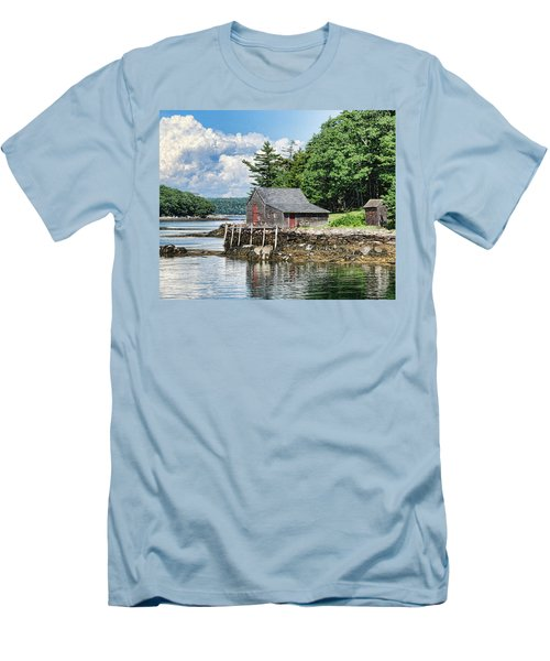 The Hideaway Men's T-Shirt (Athletic Fit)