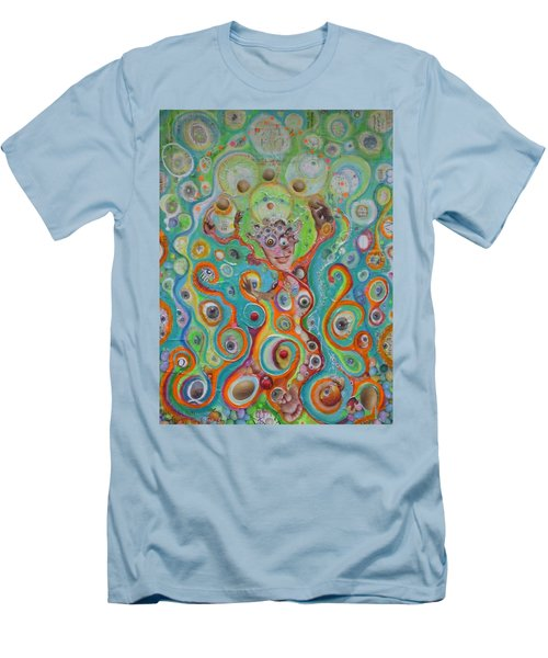 The Juggler Of Junkadelphia Men's T-Shirt (Slim Fit) by Douglas Fromm