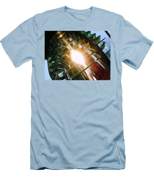 Men's T-Shirt (Slim Fit) featuring the photograph The Light by Daniel Thompson