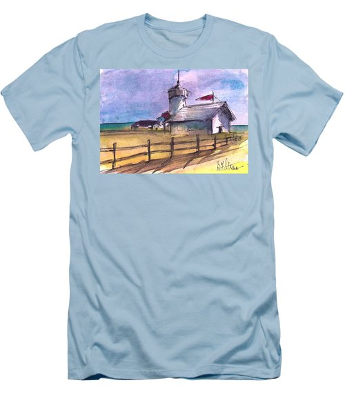 The Lighthouse Men's T-Shirt (Athletic Fit)