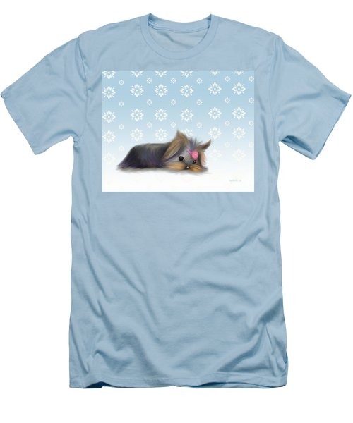 The Little Thinker  Men's T-Shirt (Slim Fit) by Catia Cho