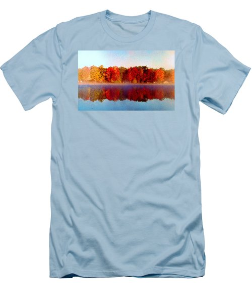 Men's T-Shirt (Slim Fit) featuring the photograph The Other Side... by Daniel Thompson