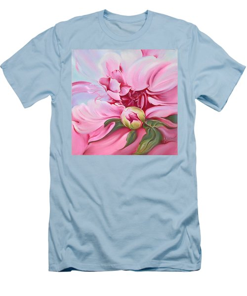 The Peony Men's T-Shirt (Athletic Fit)