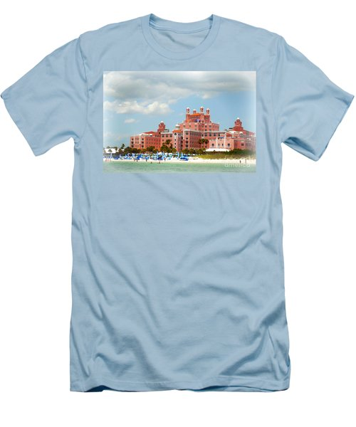 The Pink Palace Men's T-Shirt (Slim Fit) by Valerie Reeves