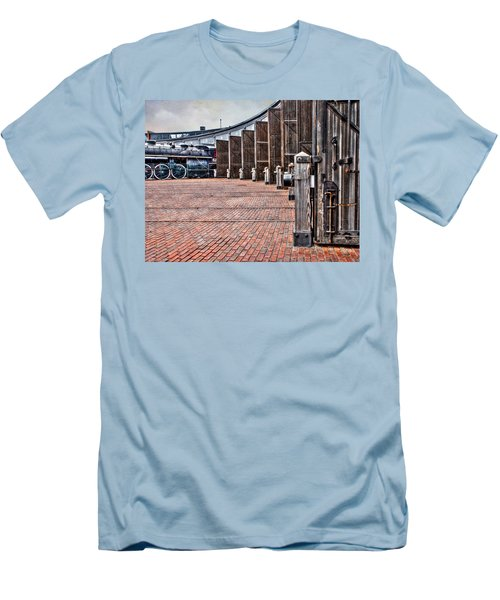 The Roundhouse Men's T-Shirt (Slim Fit) by Keith Armstrong