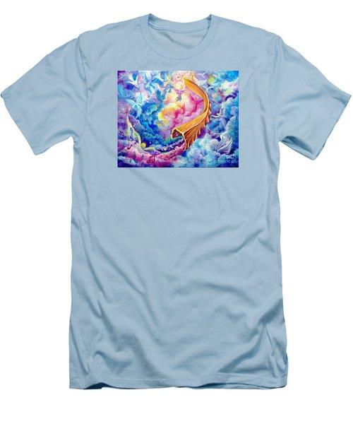 The Shofar Men's T-Shirt (Slim Fit) by Nancy Cupp