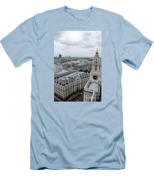 The Thames From St Paul's Men's T-Shirt (Athletic Fit)