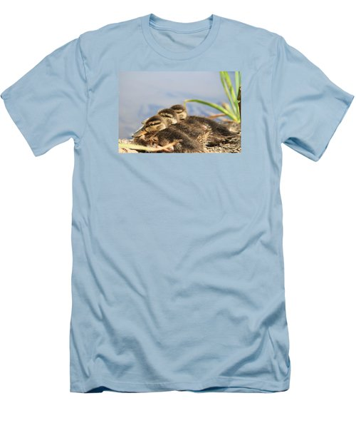 The Three Amigos Men's T-Shirt (Slim Fit) by Amy Gallagher
