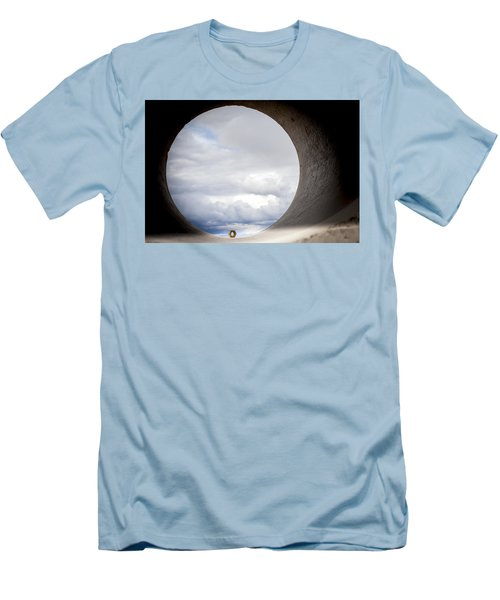 The View Above Men's T-Shirt (Slim Fit) by Fran Riley